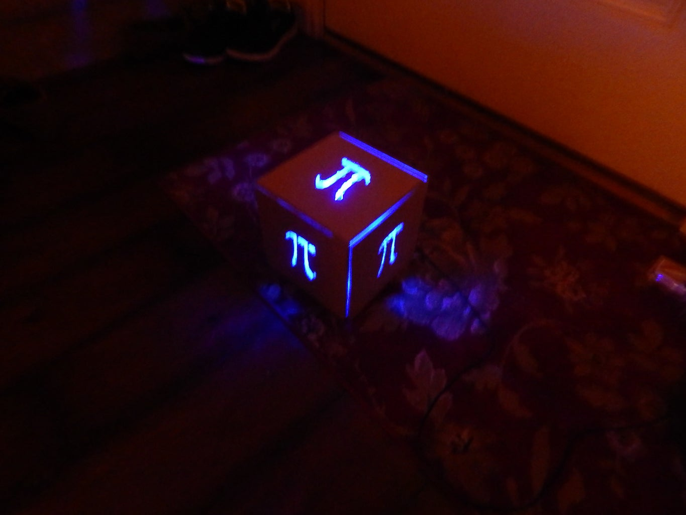 Pi Color Changing Lamp