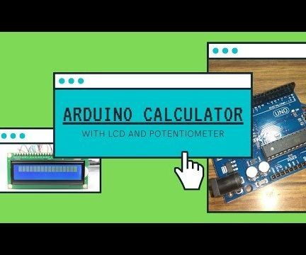 How to Make Arduino Calculator With LCD Display