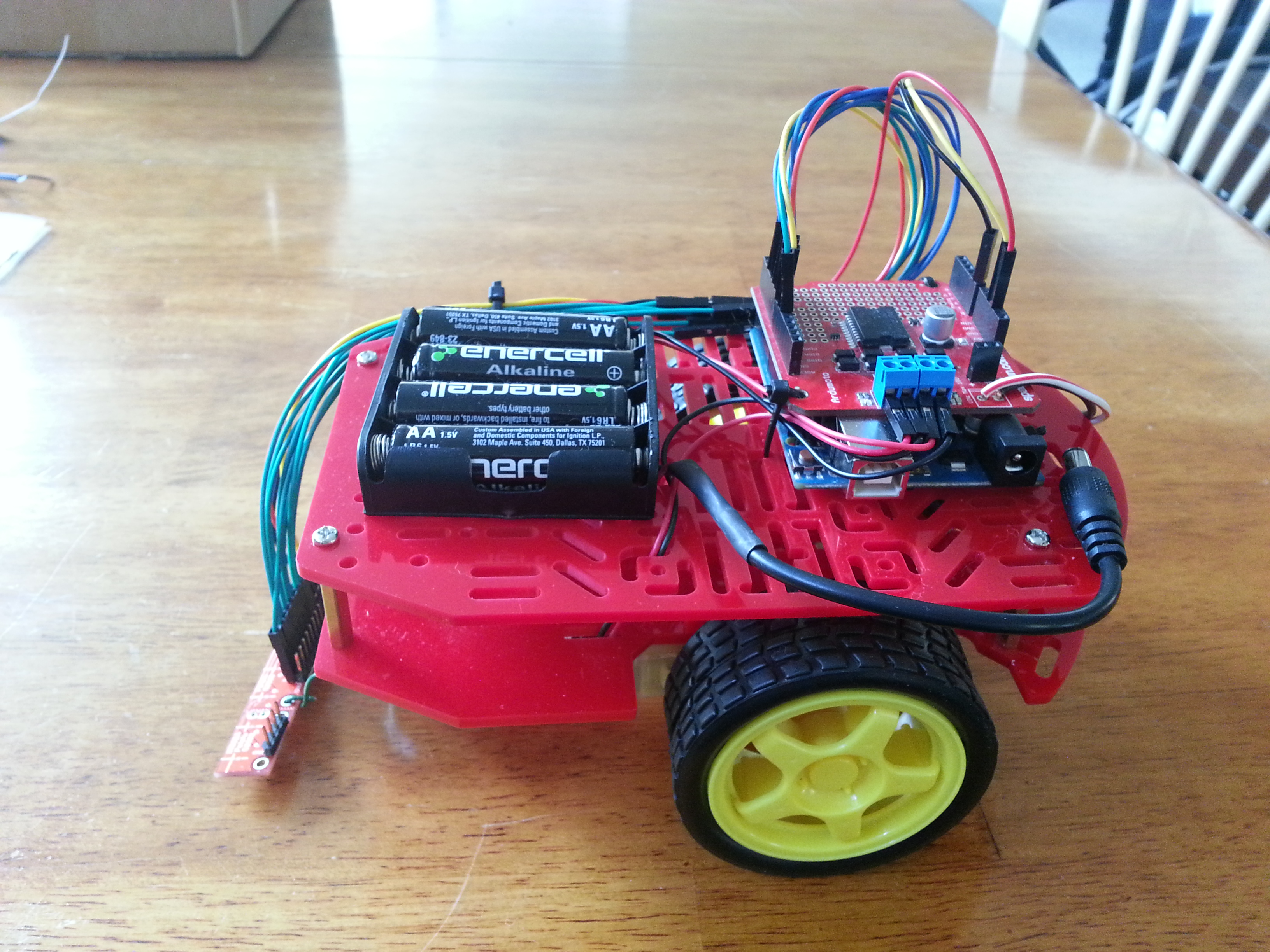 Basic Line following Robot with Arduino