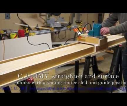 A surfacer with out the requirement of a jointer planer