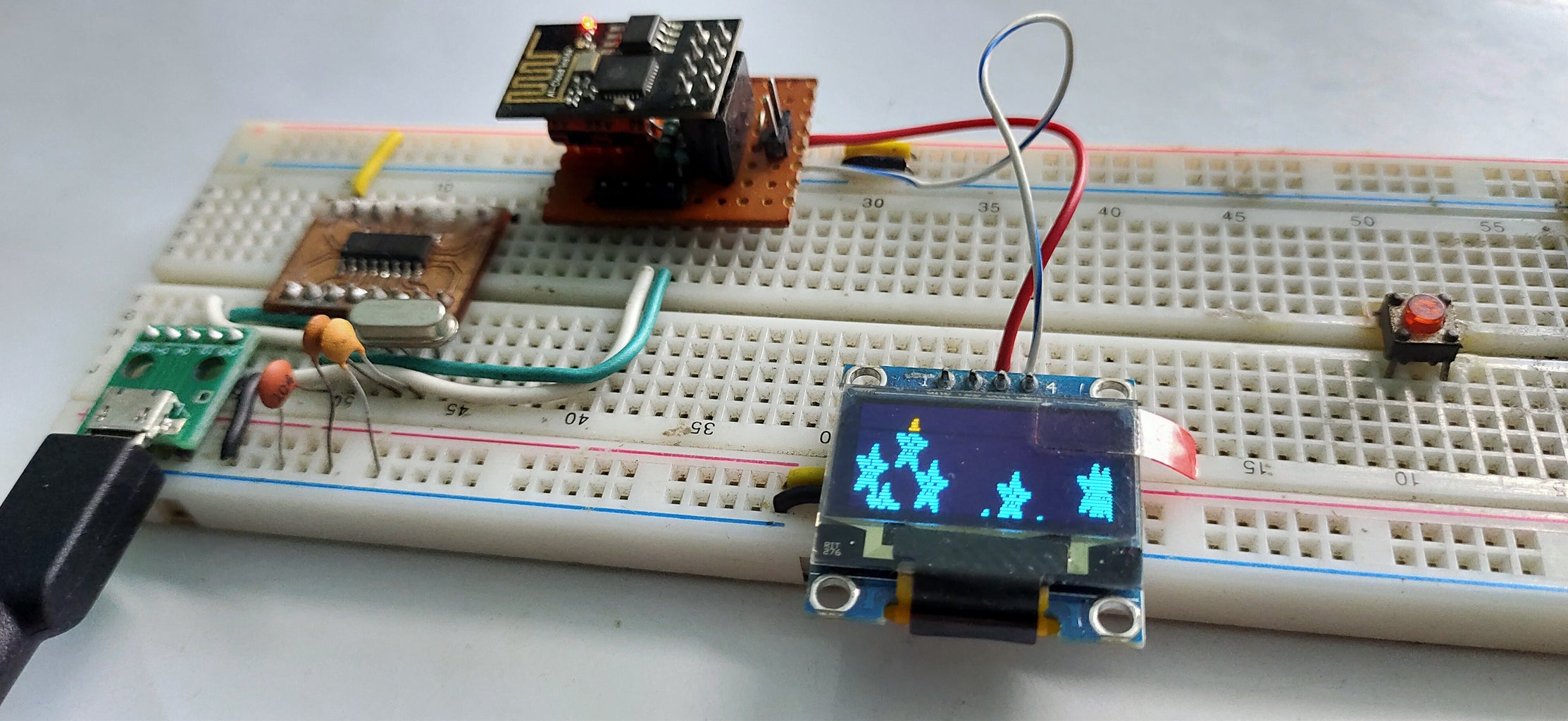 Testing Out the I2C Communication