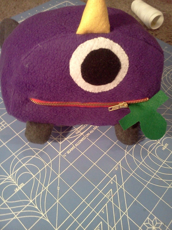 One Eyed, One Horned Flying Purple People Eater
