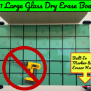 "$21 Glass Dry Erase Board (24"" X 36"")"