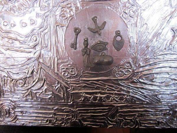 Embossed Metal Box