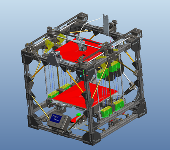 """How to Create a Large 3D Printer Using a Smaller 3D Printer - """"Project Locus"""""""