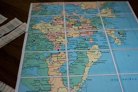 Practical Tips for Working With Already Cut/printed Maps