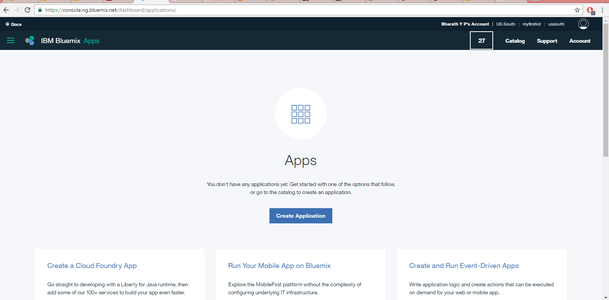 Step 4: Setting Up a Twilio Account and Bluemix Account and Using Them in Node-Red