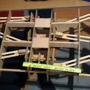 wooden robotic hexapod