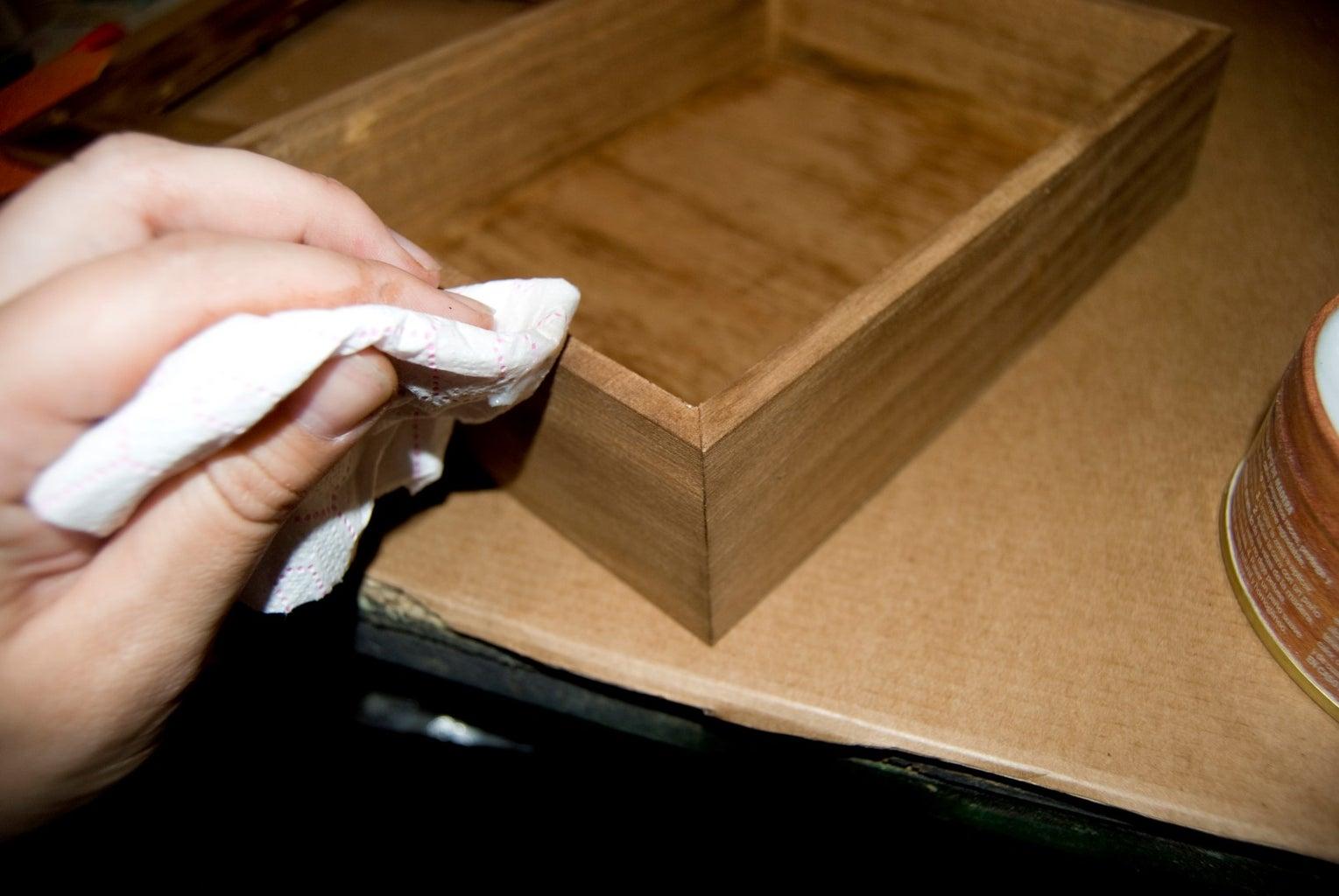 Step 5: Wax