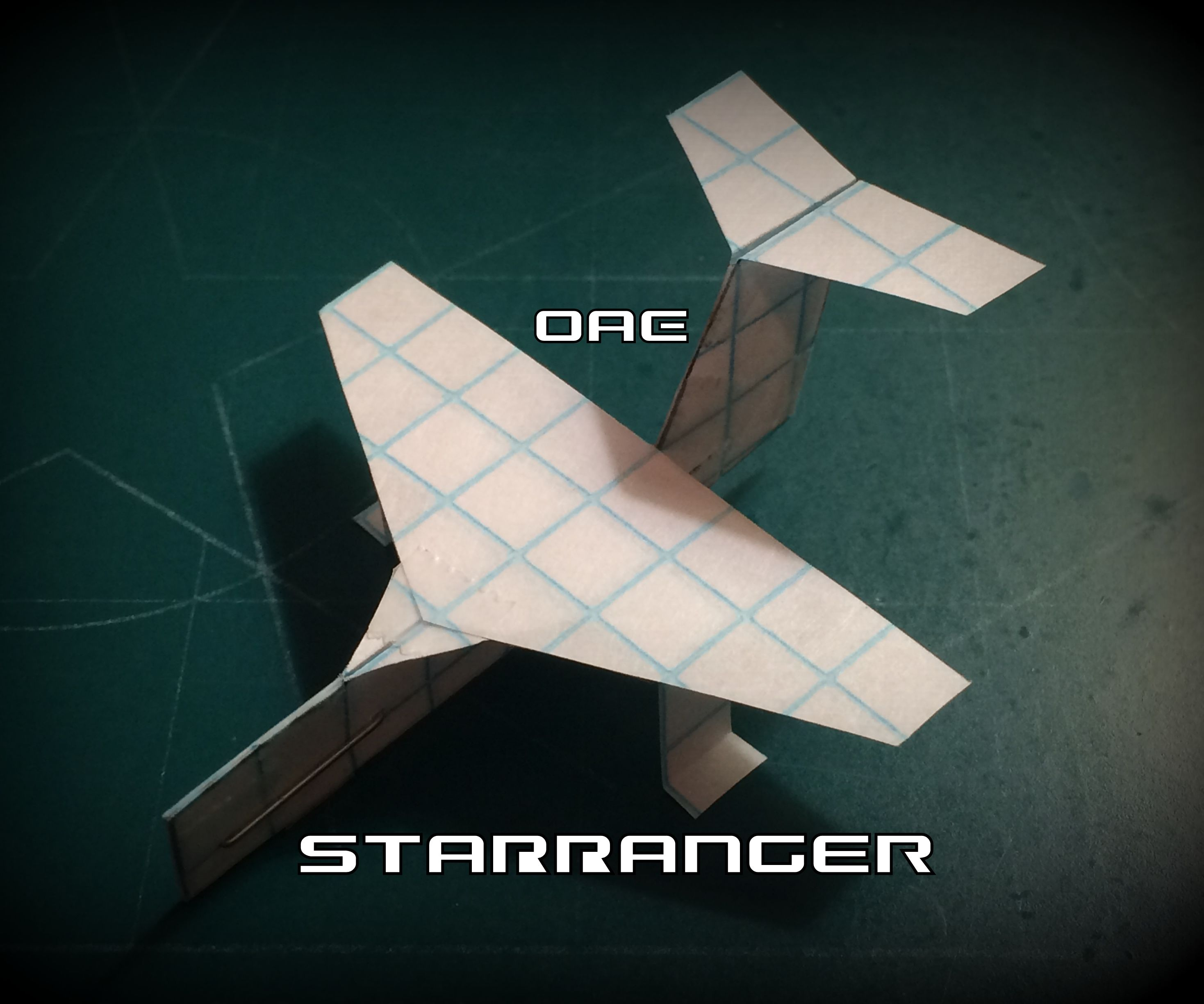 How to Make the StarRanger Paper Airplane