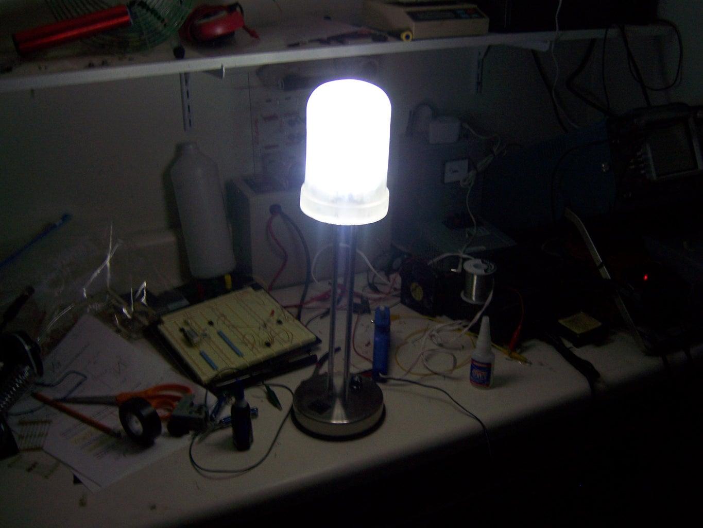 Insert the LED