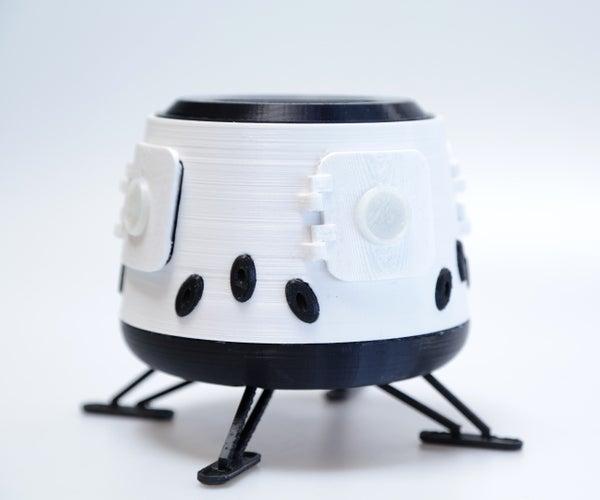 3D Printed Modular Mars Habitat Model