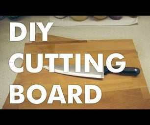 How to Make a Hardwood Cutting Board