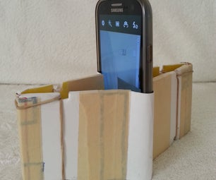 How to Make a Vertical Phone Stand