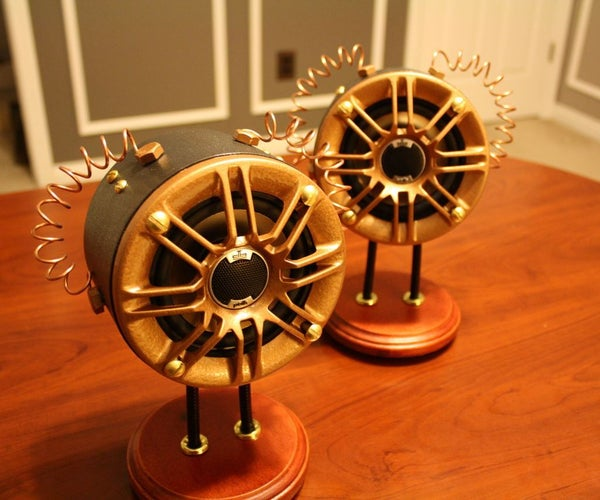 Steampunk Speakers