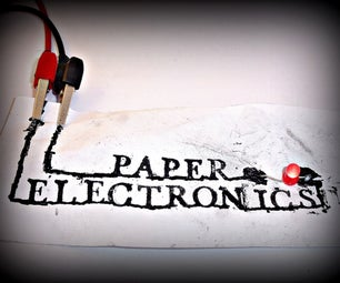 Paper Electronics: Conductive Paints, Inks, and More