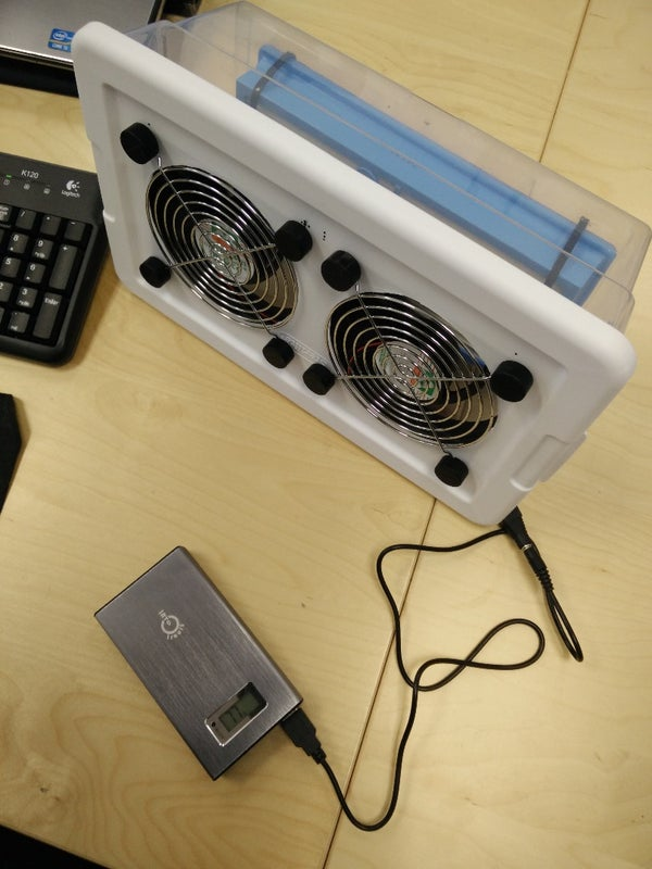 Portable USB HEPA Air Purifier / Fume Extractor