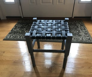 Jack's How to Build a Stool Using Recycled Bicycle Tubes and Other Basement Treasures