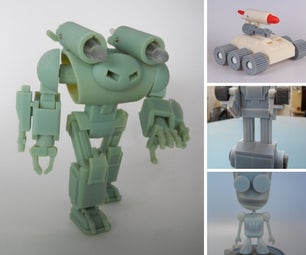 M.C. Langer's 3D Printing Projects