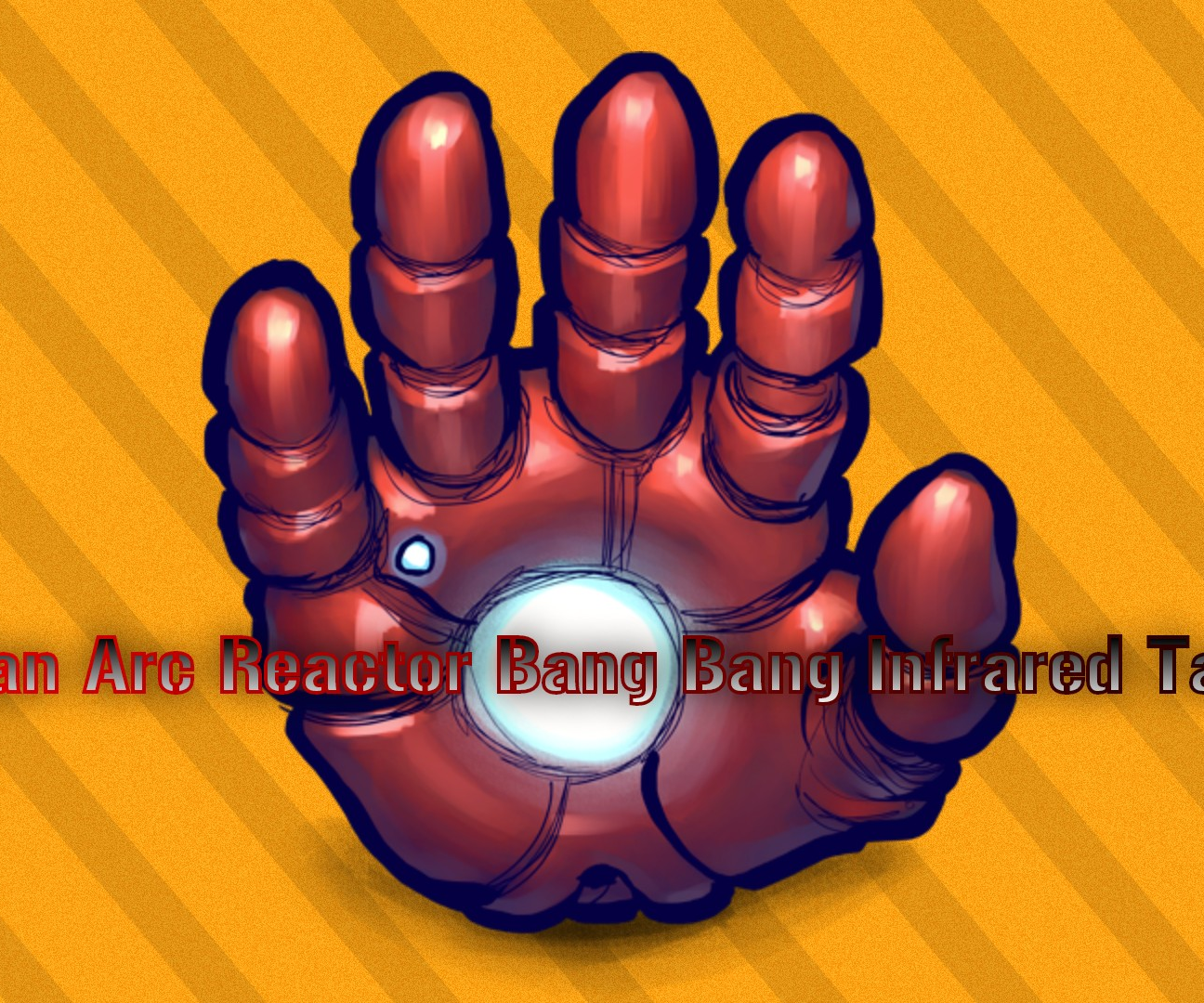Iron Man Arc Reactor Bang Bang Tag