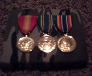 How to Make a Styrofoam Cushion for Military Medals