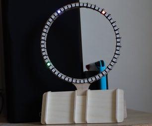 LED Clock Using Neopixels