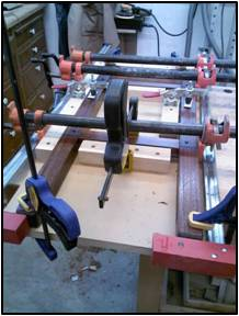 Clamping Jigs & Gluing Sub-Assemblies