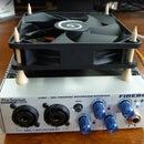 DIY Audio Interface Cooler