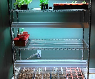 Seed Starter/Indoor Planting Shelf