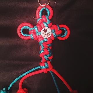 Paracord Cross-Knot Cross
