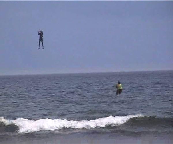 The Stoopid Thing: Kite-powered Personal Flight