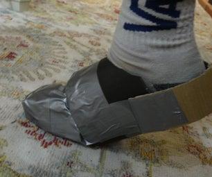 纸板鳄鱼/拖鞋超级简单!