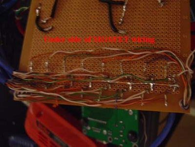Wiring the MOSFETS