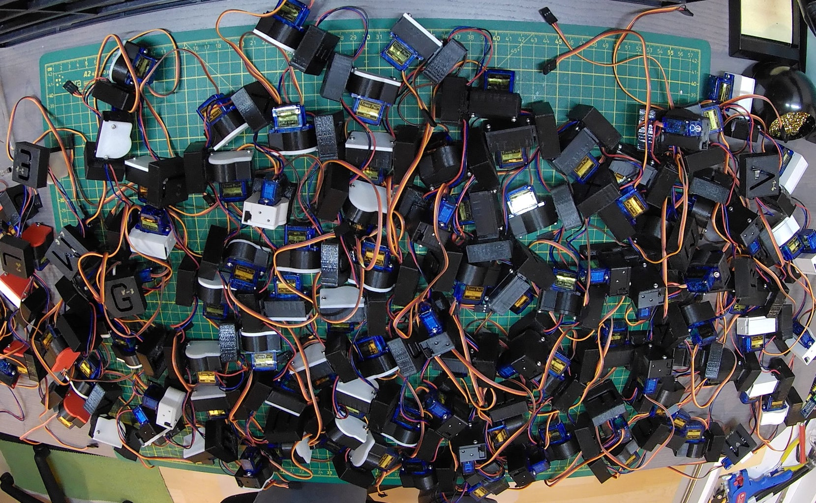 Assembling the Actuators