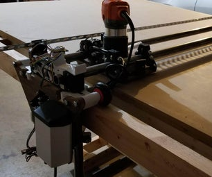 Fliptable LowRider CNC