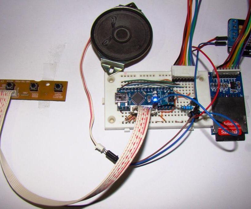 Playing Wave file using arduino