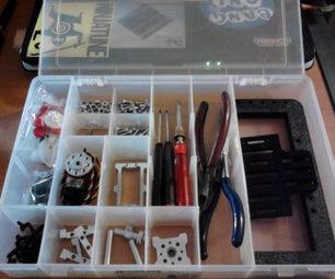 Transform a Fishing Tools Box to a Robotics Tools Box