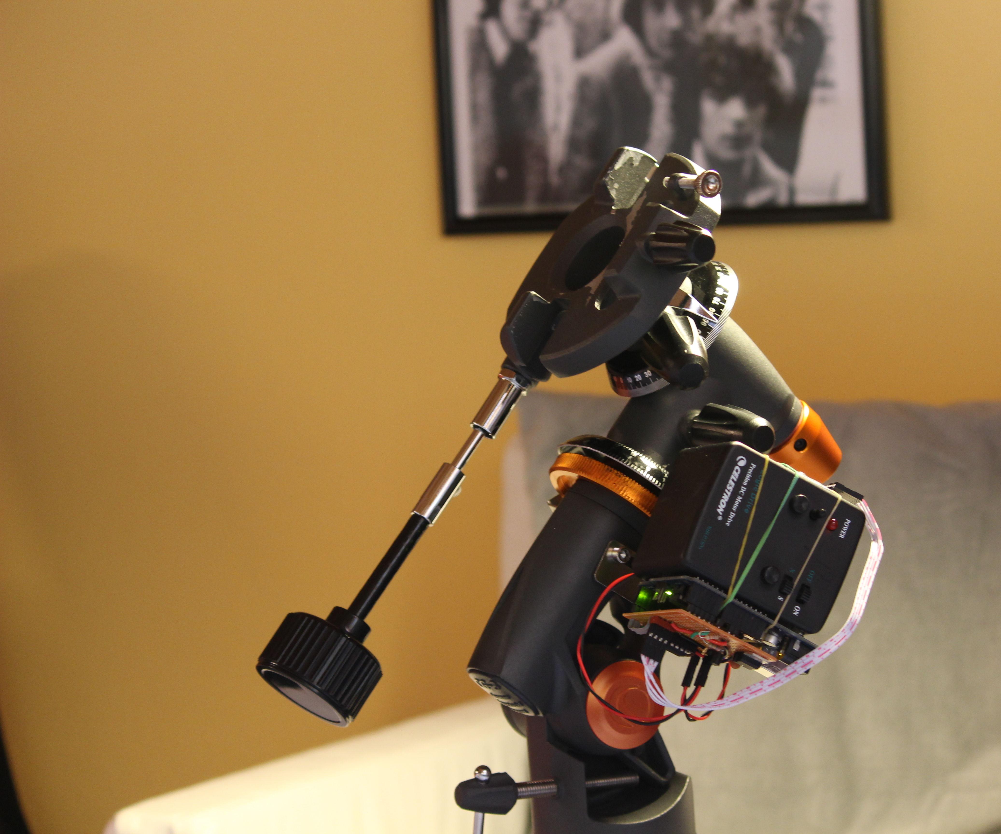 Lo-Fi Telescope pointer