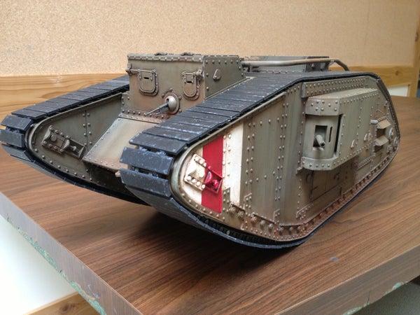 R/C Replica WW1 Tank