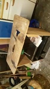 Step 2  Dismantling of the Hand-saw of the Old Table / Démontage De La Scie De L'ancienne Table