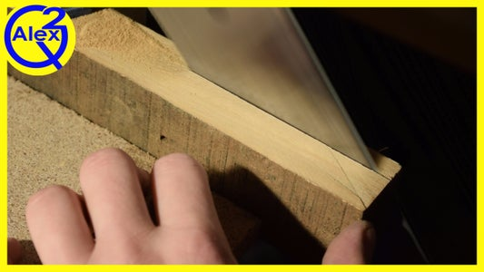 Preparing the Handle Material
