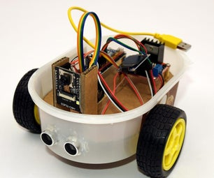 ESP32-CAM Building Your Own Robot Car With Live Video Streaming