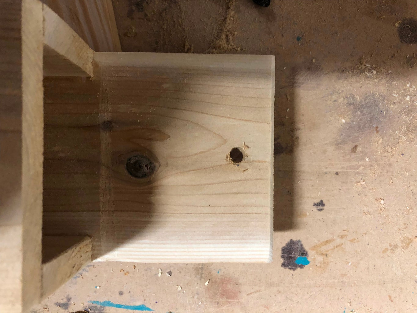 Drill the Hanging Hole