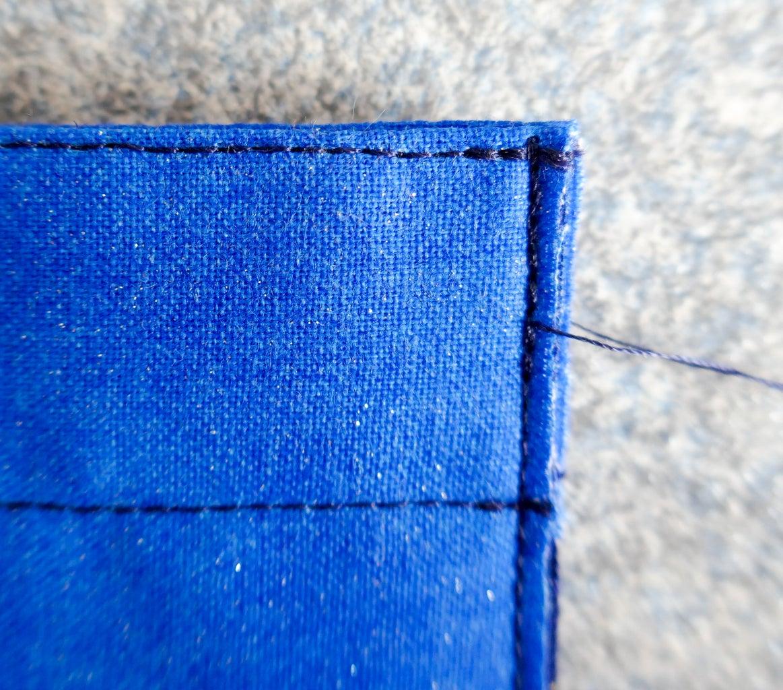 Sew First Side Seam