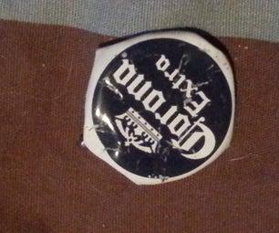 Bottle Cap Pin