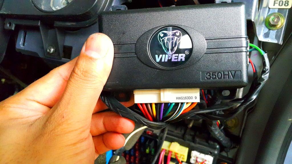 Car Remote Starter Installation 11, Viper 350hv Wiring Diagram