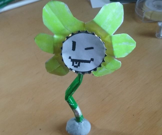Make You're Own Customisable Flowey (Undertale)