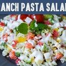 Quick Ranch Pasta Salad