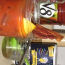 Homemade Bacon Vodka - (Bloody Mary)