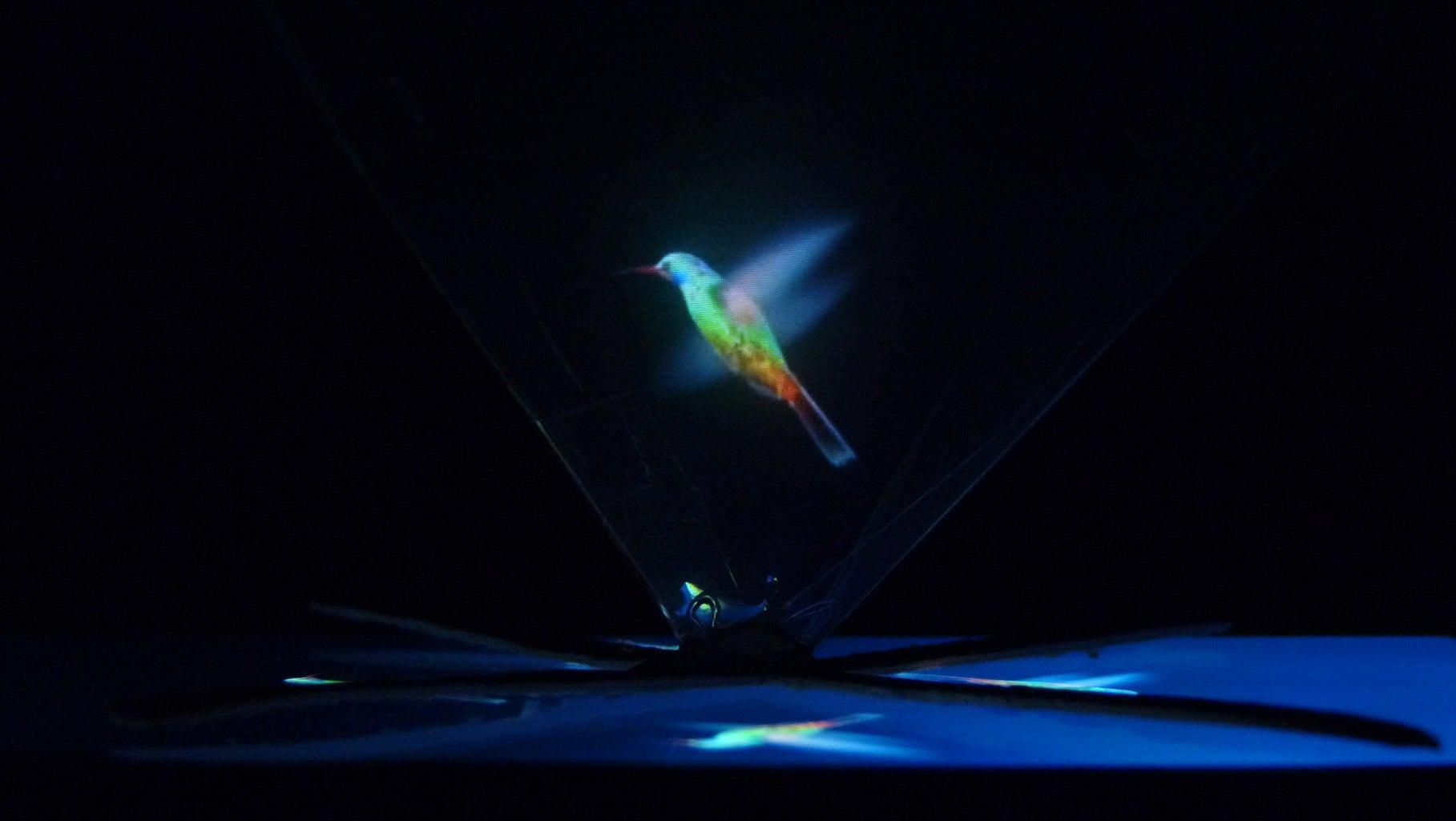 Enjoy the Hologram